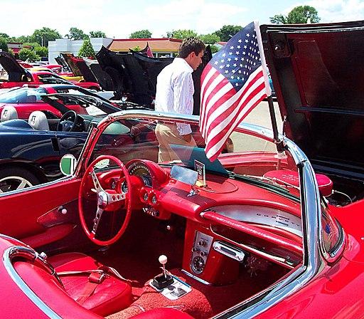 American Flag-American Car (1064261132)