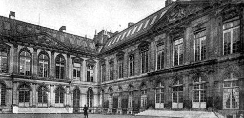 Americana 1920 Libraries - Bibliothèque Nationale - Cour d´honneur.jpg