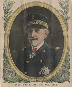 L'amiral Lacaze en 1916
