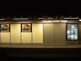 image illustrative de l'article Ampère - Victor Hugo (métro de Lyon)