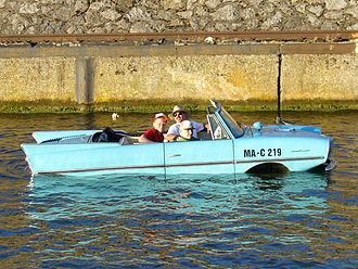 Amphibious automobile - Amphicar