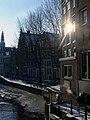 Amsterdam - Oudezijds Voorburgwal from Oudezijds Kolk.JPG