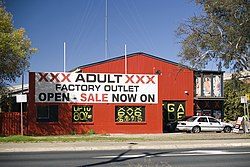 An Adult shop in Fyshwick