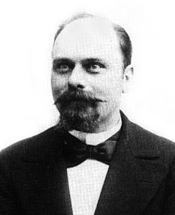 Anatole Deibler (1863-1939) - photographié en juillet 1900