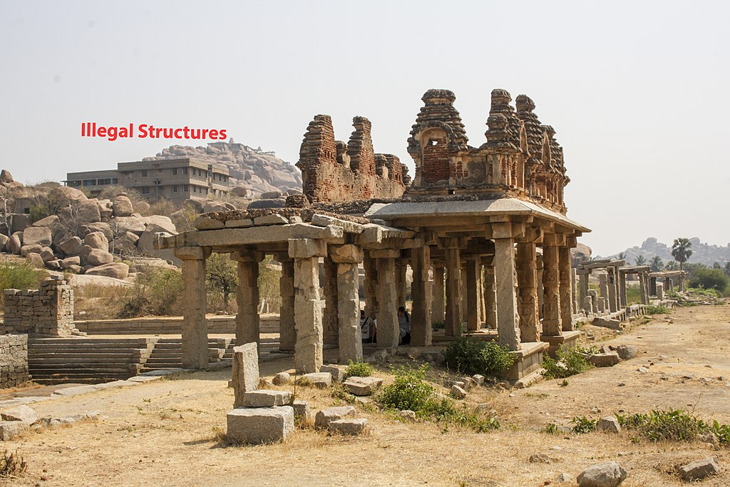 Ancient Market in Hampi 02