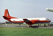 An Hawker Siddeley Andover E.3A of No. 115 Squadron which was based at RAF Benson during the 1980 and 90s