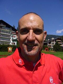 André Bossert Swiss professional golfer