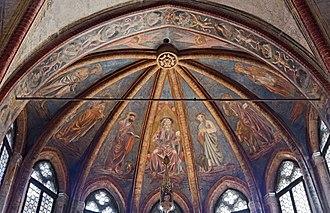 Andrea del Castagno - Frescoes in the San Tarasio Chapel San Zaccaria