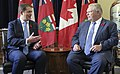 Andrew Scheer with Doug Ford - 2018 (45012613224).jpg