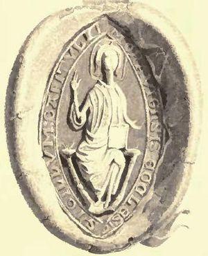 Andrew Stewart (bishop of Moray) - Image: Andrew Stewart seal