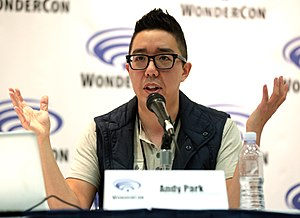 Andy Park (comics) - Park at WonderCon 2017