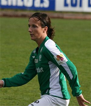 Ane Stangeland Horpestad - With Klepp IL in 2007