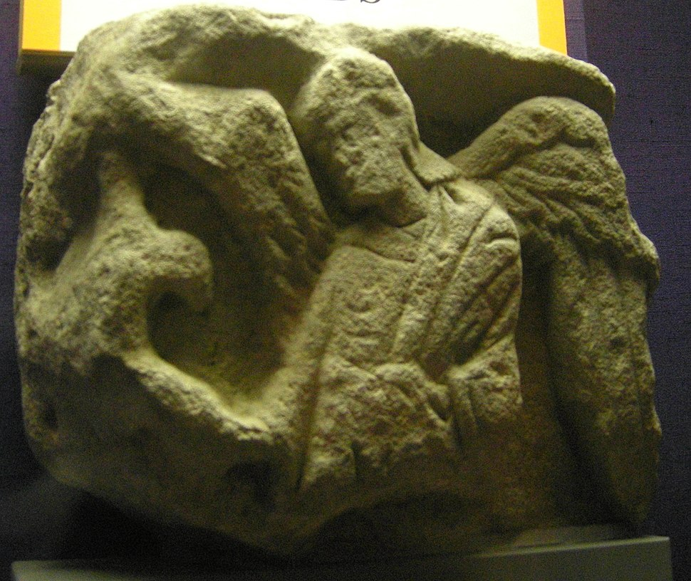 Anglo Saxon stone carving 015
