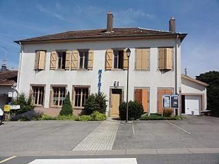 Angomont Commune in Grand Est, France