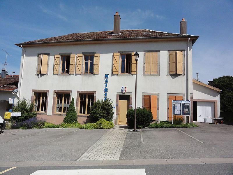 Angomont (M-et-M) mairie