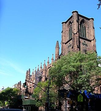 St. Ann & the Holy Trinity Church - Truncated steeple