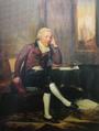 António de Araújo e Azevedo, depois conde da Barca, óleo a partir de gravura - Colecção do Banco de Portugal.png