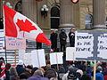 Anti-Coalition Rally 2008 in Edmonton.jpg