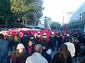 Anti-PKK protest in Frankfurt, Germany on Zeil 04.jpg