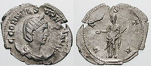 Aemilianus - Cornelia Supera (or Supra), was the wife of Aemilianus