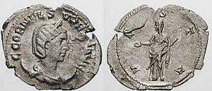 Aemilianus - Cornelia Supera (or Supra), was the wife of Aemilianus