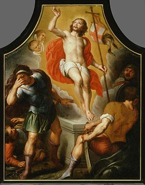 Antoon van den Heuvel - The resurrection of Christ