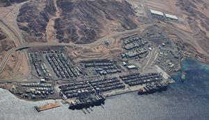 Port of Aqaba - Image: Aqaba container terminal
