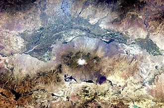 Ararat Plain - Image: Aras River, Turkey Armenia Iran Border Region