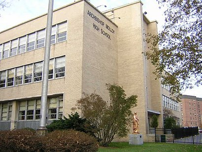 How to get to Archbishop Molloy High School with public transit - About the place