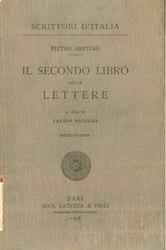 Pietro Aretino: Il secondo libro delle lettere