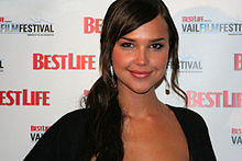 Arielle Kebbel - the beautiful, cute,  actress  with German, English, Austrian,  roots in 2019