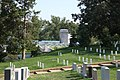 Arlington National Cemetery - looking S at Section 30 and Custis Walk and Women in Military Memorial - 2011.jpg