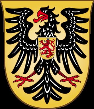Habsburg Castle - Image: Armoiries empereur Rodolphe Ier