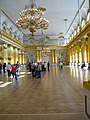 Armorial Hall, Winter Palace, now Hermitage Museum, St Petersburg, Russia 1730.JPG