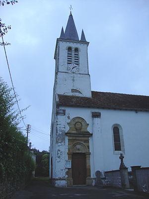 Aroue-Ithorots-Olhaïby - The Church Tower.