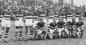 Club Deportivo Arquitectura - The 1932 team that won the first title for Arquitectura