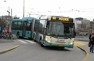 Scania OmniLink - A Scania OmniLink in service with Arriva in Amsterdam.