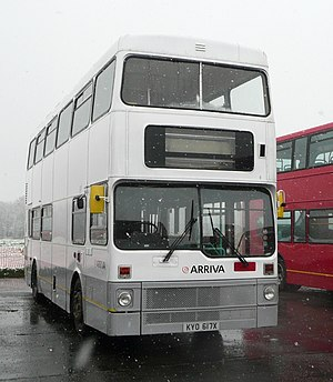 Training bus - An Arriva UK training bus