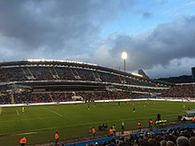 b677c8f3054 The 2016 Super Match versus Manchester City at Ullevi Stadium in  Gothenburg