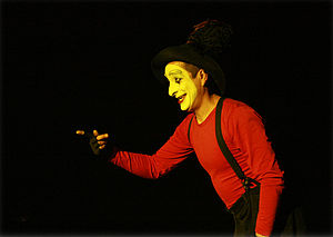 Example of Circus Arts Mime