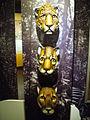 Artesanía costarricense. Máscaras de felinos. Costa Rica.JPG