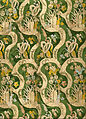 Artist, maker unknown, Italian? - Woven Textile (silk with bizarre design) - Google Art Project.jpg