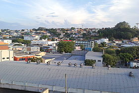 Vista do centro de Arujá