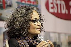 Arundhati Roy - Arundhati Roy, Man Booker Prize winner