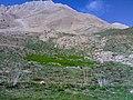 Asemankuh on Lar آسمان کوه سخت ترین کوه لار از پای آن در استرکلک - panoramio.jpg