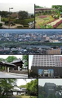 Ashikaga, Tochigi City in Kantō, Japan