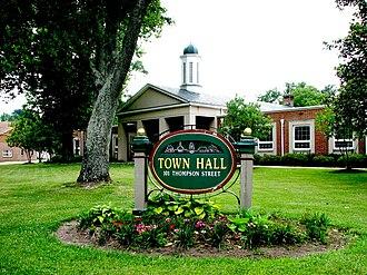 Ashland, Virginia - Ashland Town Hall