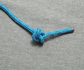 Stopper knot - An Ashley stopper knot at the end of a line
