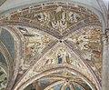 Assisi, santa chiara, interno, maestro espressionista di santa Chiara, volta con sante 01.JPG