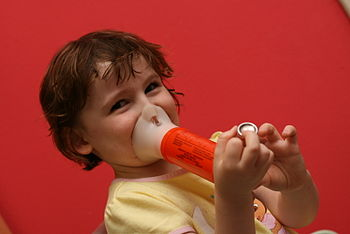 English: Asthma sufferers may not be able to b...